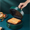 Fast Heating Easy Clean Nonstick Detachable Plates Waffle and Sandwich Maker